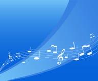 Het vliegen muziek Royalty-vrije Stock Fotografie