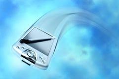 Het vliegen PDA Royalty-vrije Stock Foto