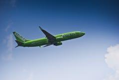 Het vliegen van 101 - Lucht Kulula - zs-ZWP Royalty-vrije Stock Foto's
