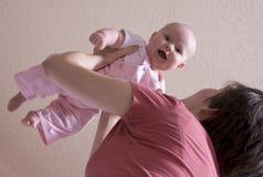 Het vliegen van de baby Royalty-vrije Stock Foto