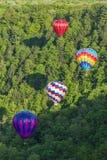 Het vliegen van de Kloof bij Letchworth-het Park van de Staat Royalty-vrije Stock Foto