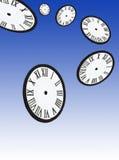Het Vliegen van de tijd Stock Afbeelding