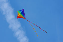Het vliegen van de vlieger Royalty-vrije Stock Afbeelding