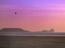 Het vliegen van de vlieger Royalty-vrije Stock Fotografie