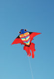 Het vliegen van de vlieger Stock Foto