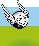 Het vliegen van het golf Vector Illustratie