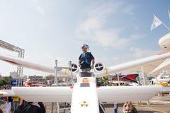 Het Vliegen van Red Bull Flugtag Dag Royalty-vrije Stock Fotografie