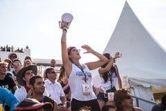 Het Vliegen van Red Bull Flugtag Dag Royalty-vrije Stock Afbeeldingen