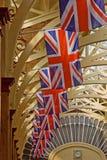 Het Vliegen van vlaggen Royalty-vrije Stock Fotografie
