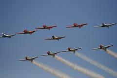 Het vliegen in Vorming Royalty-vrije Stock Fotografie
