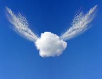 Het vliegen wolkenconcept Stock Afbeelding