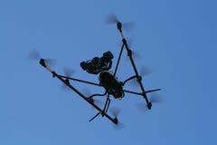 Het vliegende Insect van het Toezicht van de Spion stock afbeelding