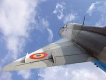 Het vliegende Vliegtuig van de Oorlog Royalty-vrije Stock Foto's