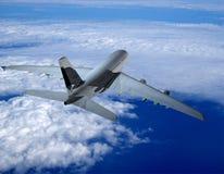Het vliegtuig stock foto