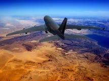 Het vliegtuig royalty-vrije stock foto's