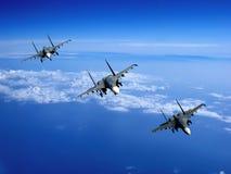 Het vliegtuig Stock Afbeelding