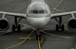 Het vliegtuig Royalty-vrije Stock Foto