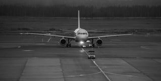Het vliegtuig Royalty-vrije Stock Fotografie