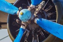 Het An2 vliegtuig Royalty-vrije Stock Foto