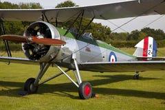 Het Vliegtuig van Bi van de Avroprivé-leraar K3241 Stock Foto