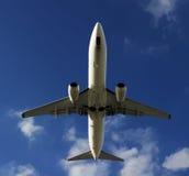 Het vliegtuig van BOEING 737-800 Royalty-vrije Stock Foto