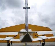 Het vliegtuig van Cessna royalty-vrije stock foto