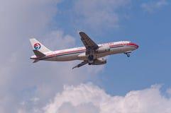 Het vliegtuig van China Eastern Airlines Royalty-vrije Stock Afbeeldingen