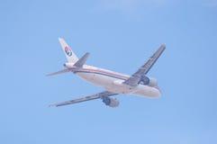 Het vliegtuig van China Eastern Airlines Royalty-vrije Stock Fotografie