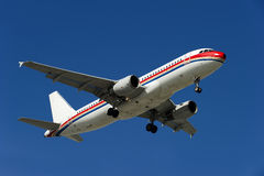 Het vliegtuig van de LUCHTBUS A320-200 Stock Foto