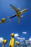 Het vliegtuig van de LUCHTBUS A330-200 Royalty-vrije Stock Afbeeldingen