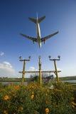 Het vliegtuig van de luchtbus A330-200 Stock Foto