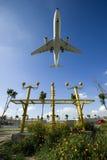 Het vliegtuig van de luchtbus A330-200 Stock Afbeelding