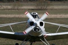 Het vliegtuig van de motor Stock Afbeeldingen