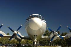 Het vliegtuig van de omloopmotor Royalty-vrije Stock Foto's