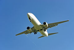 Het Vliegtuig van de passagier Stock Foto
