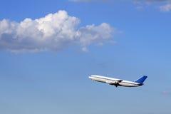 Het vliegtuig van de passagier Royalty-vrije Stock Afbeelding