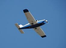 Het vliegtuig van de propeller Stock Foto