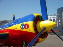 Het vliegtuig van de propeller Royalty-vrije Stock Foto