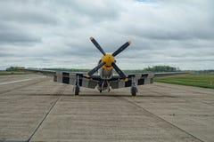 Het vliegtuig van de propellervechter Stock Afbeeldingen