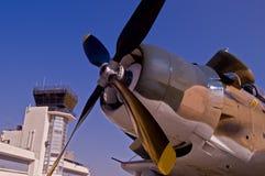 Het vliegtuig van de steun Royalty-vrije Stock Foto's