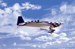 Het Vliegtuig van de stunt Royalty-vrije Stock Afbeelding