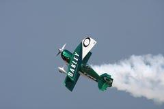 Het Vliegtuig van de Stunt van Oakley Stock Afbeelding