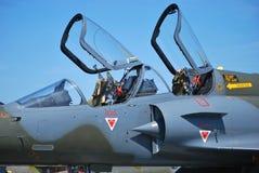 Het vliegtuig van de vechter Royalty-vrije Stock Afbeelding