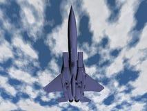 Het vliegtuig van de vechter Royalty-vrije Stock Foto's