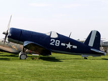 Het Vliegtuig van de vechter - WO.II Royalty-vrije Stock Afbeeldingen