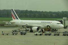 Het vliegtuig van Frankrijk van de lucht Royalty-vrije Stock Afbeelding