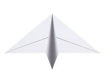 Het vliegtuig van het document Vliegtuigorigami het 3d teruggeven royalty-vrije illustratie
