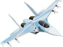 Het vliegtuig van het gevecht Royalty-vrije Stock Foto