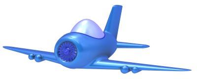 Het vliegtuig van het stuk speelgoed Royalty-vrije Stock Afbeelding