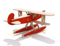 Het vliegtuig van het stuk speelgoed Royalty-vrije Stock Afbeeldingen